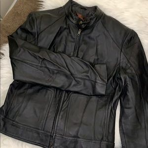 Danier Jackets & Coats - Leather Danier Biker jacket